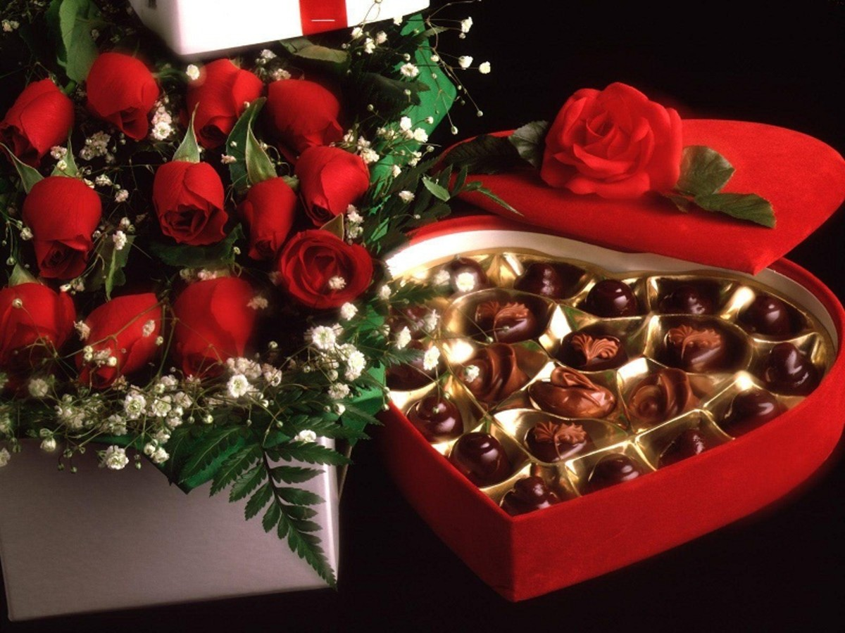 How if he gave you chocolate roses gift?