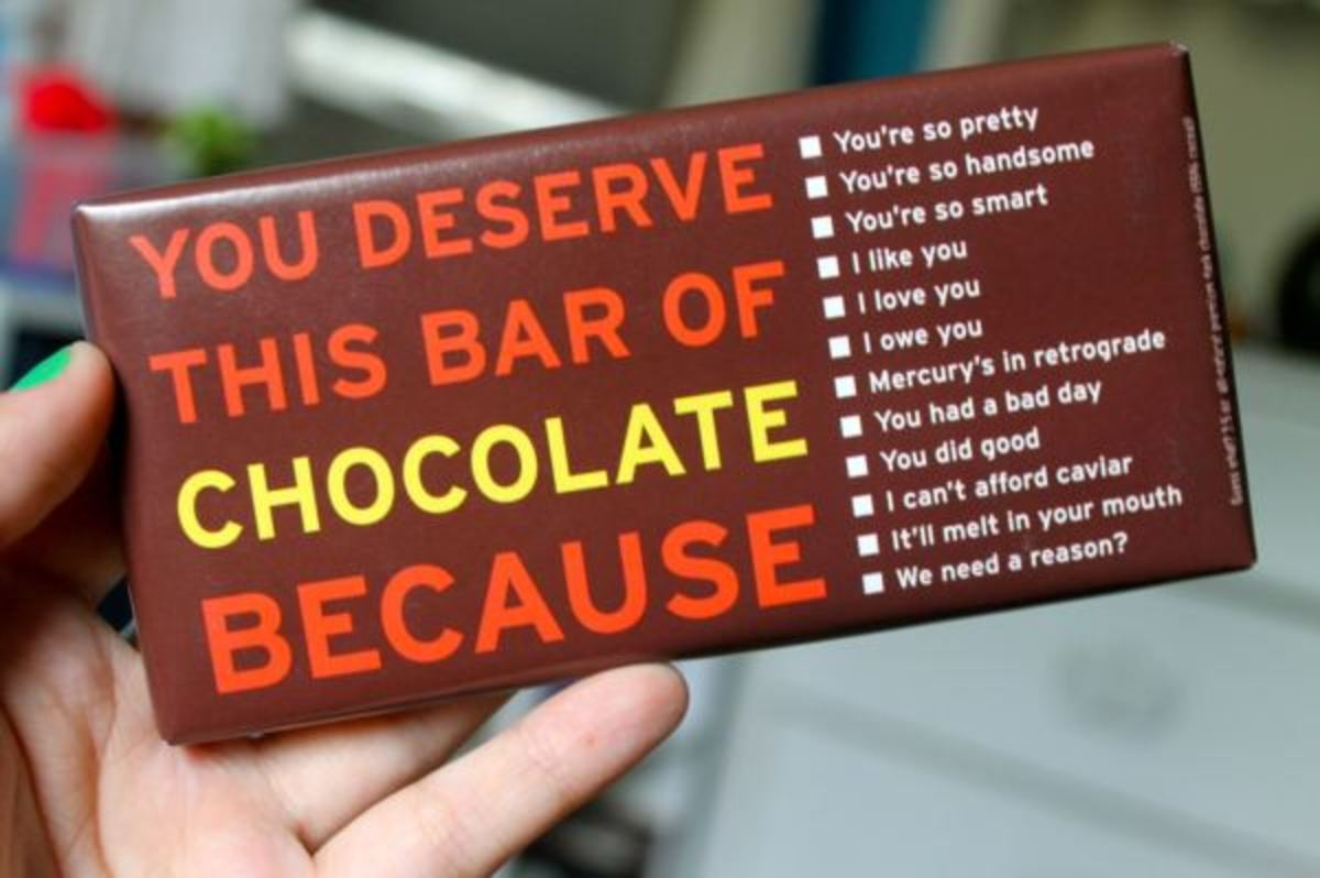 Meaning of Chocolate Gift - Symbolic of Love, Passion, Care and Friendship
