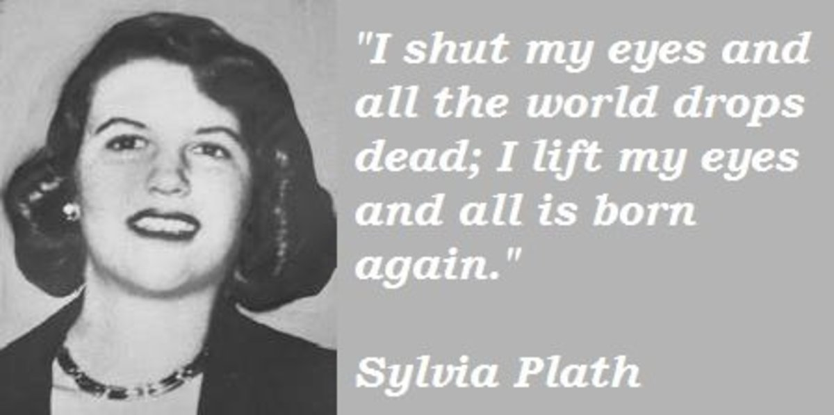 an analysis of sylvia plaths use of imagery in her poem daddy and her book the bell jar Here is a collection of the all-time best famous sylvia plath poems  or anything else sylvia plath poem related using the  written by sylvia plath | daddy.