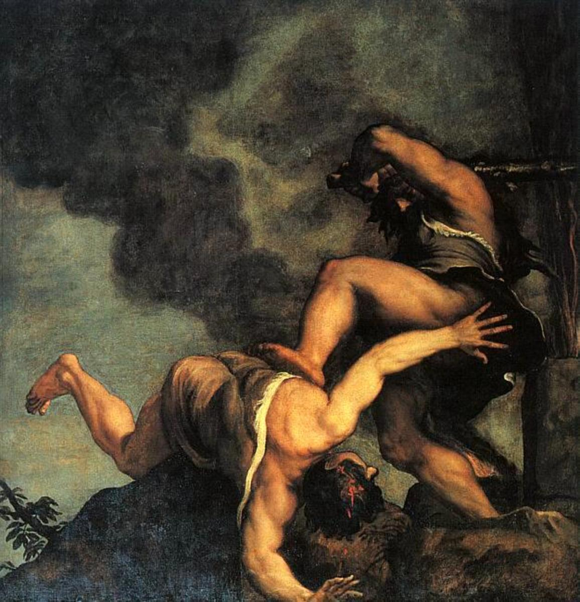 Cain and Abel Titian 1487/90-1576