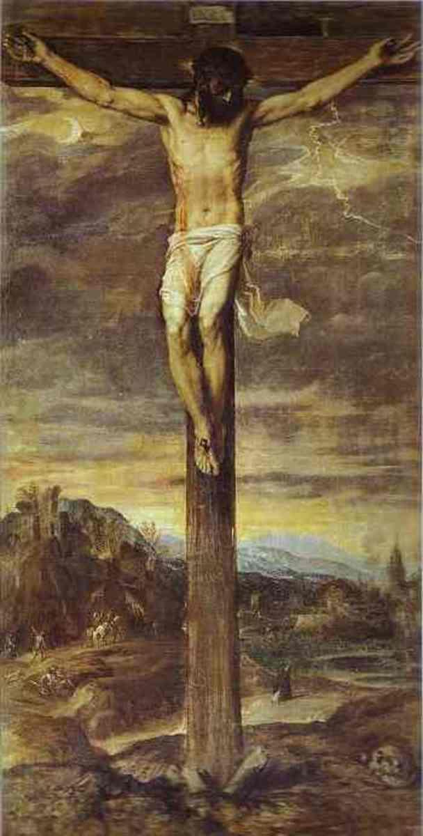 The Crucifixion, Titian (c1488-1576)