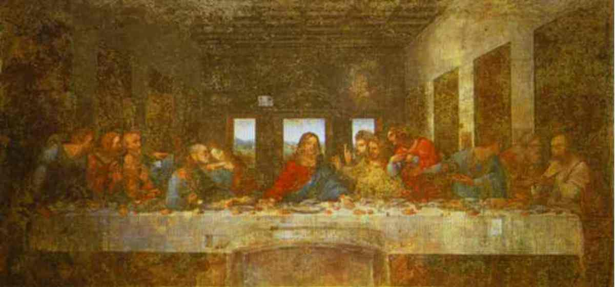 The Last Supper Leonardo Da Vinci c 1495-1498