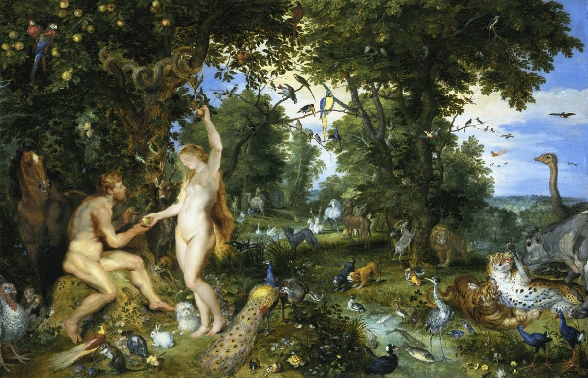 Paradise and the Fall, Jan Brueghel the Elder (1568-1625)