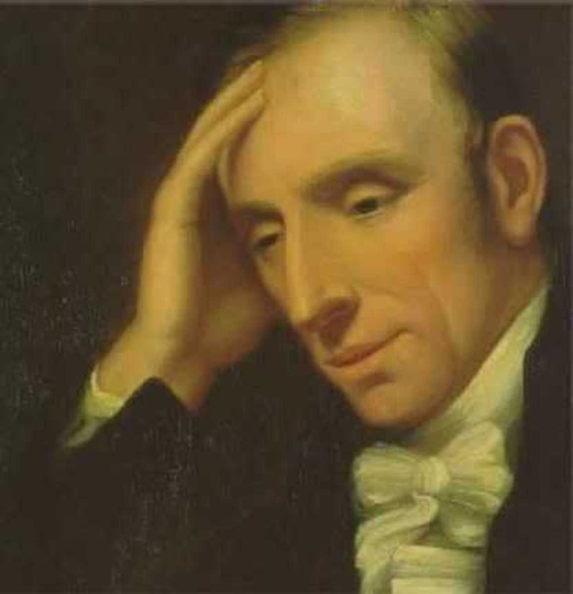 William Wordsworth as a young man.