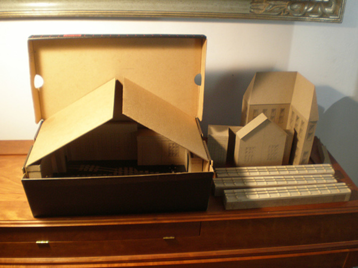Shoebox micro-layout about to be built.