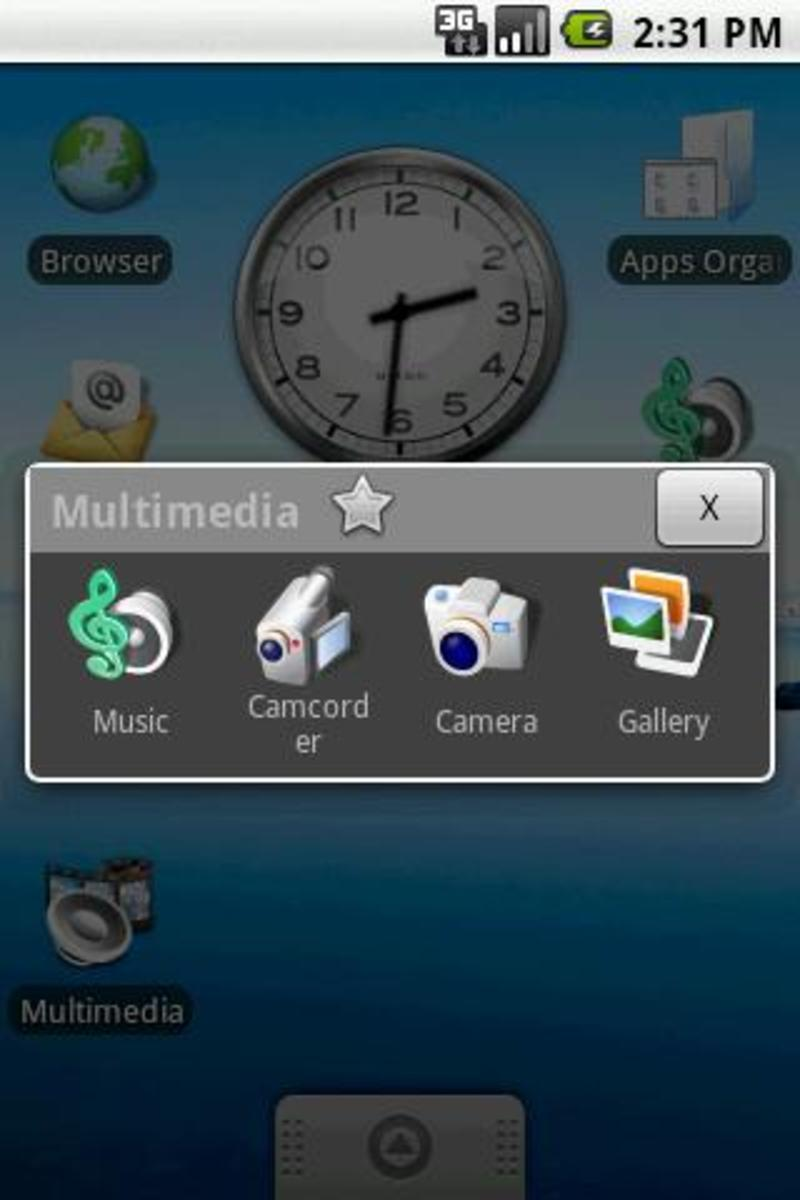 Folder Organizer, giving you folders on your home screens