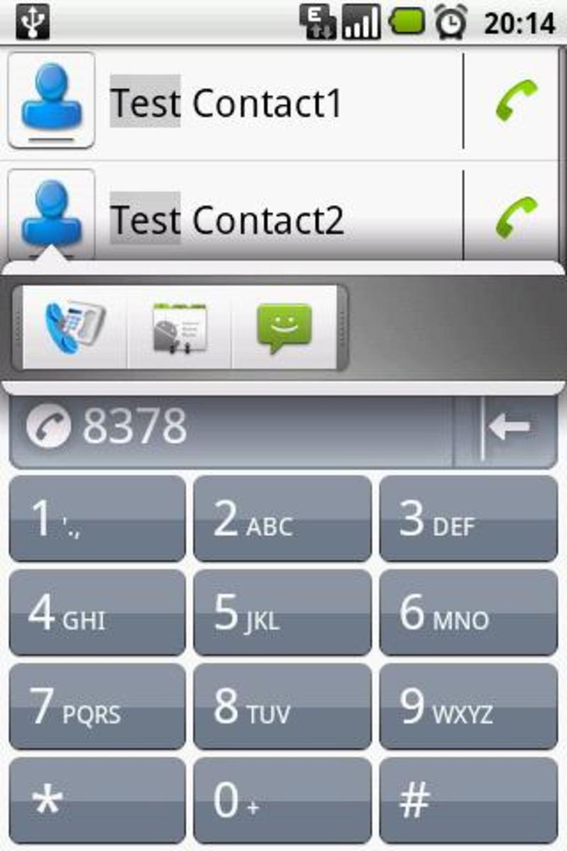 Dialer One, a free dialer alternative