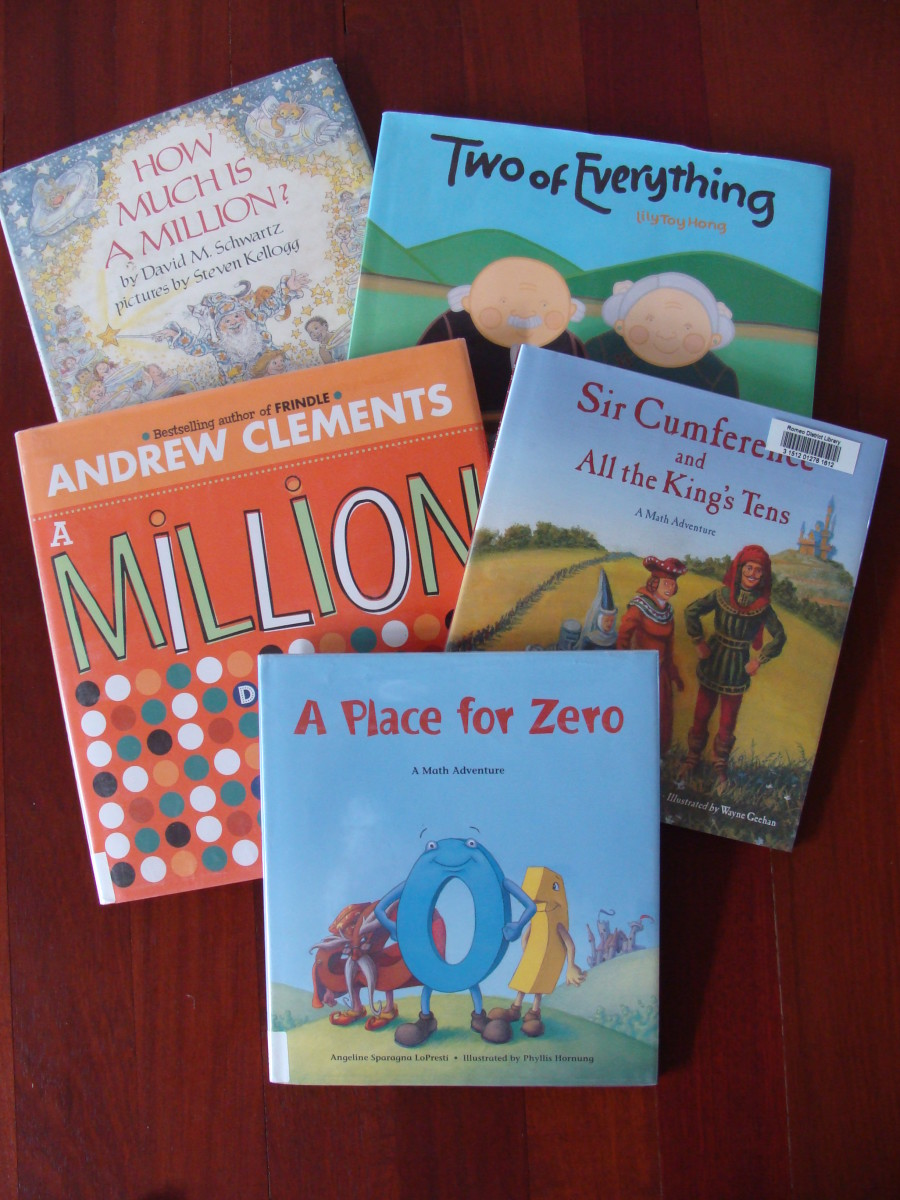 Books that teach place value.