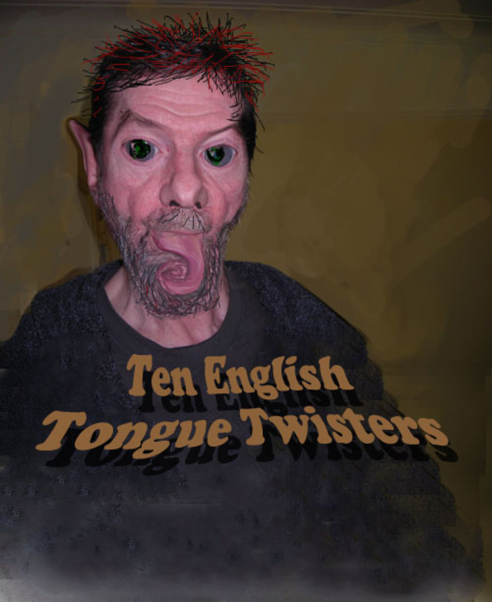 Ten English Tongue Twisters
