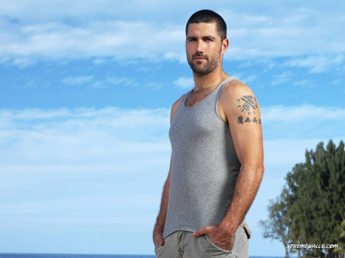Matthew Fox played Jack Shepherd in the popular 'Lost' TV series.