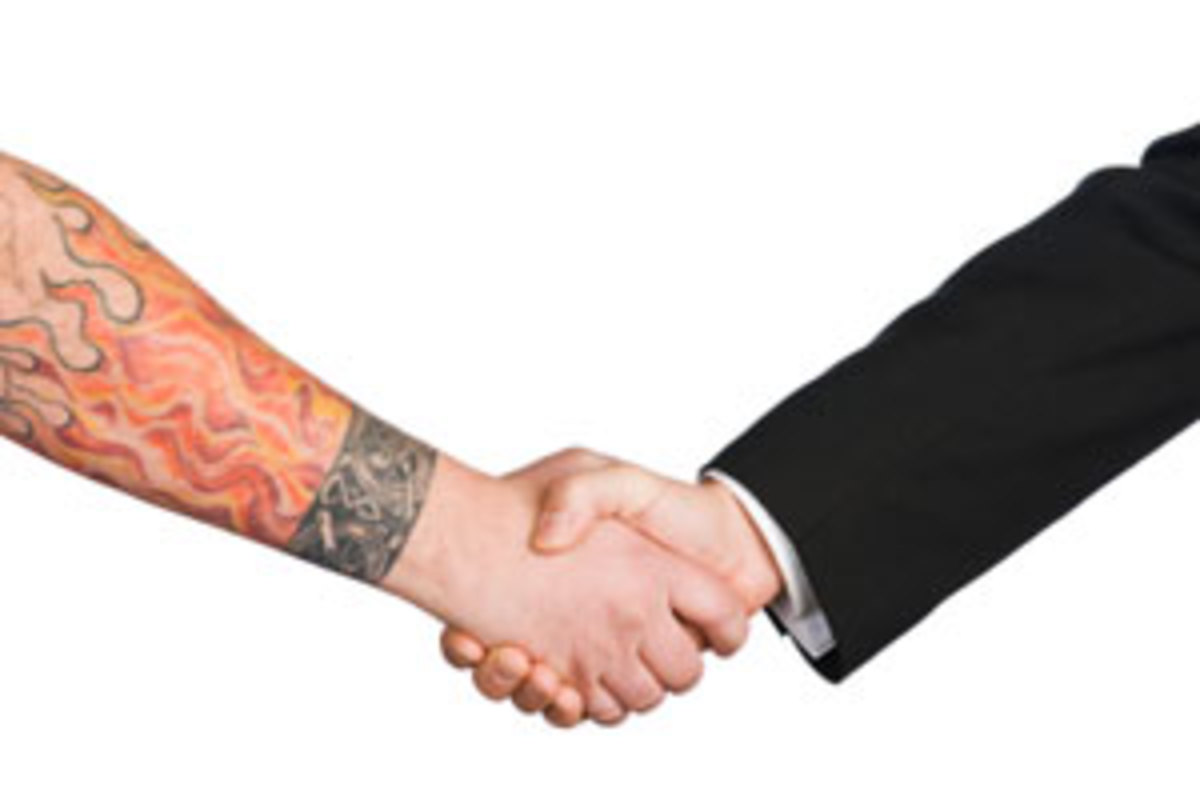 As a larger majority of people possess tattoos today, employers are focusing more on the abilities of a job candidate, but many are still asking them to cover up once hired.