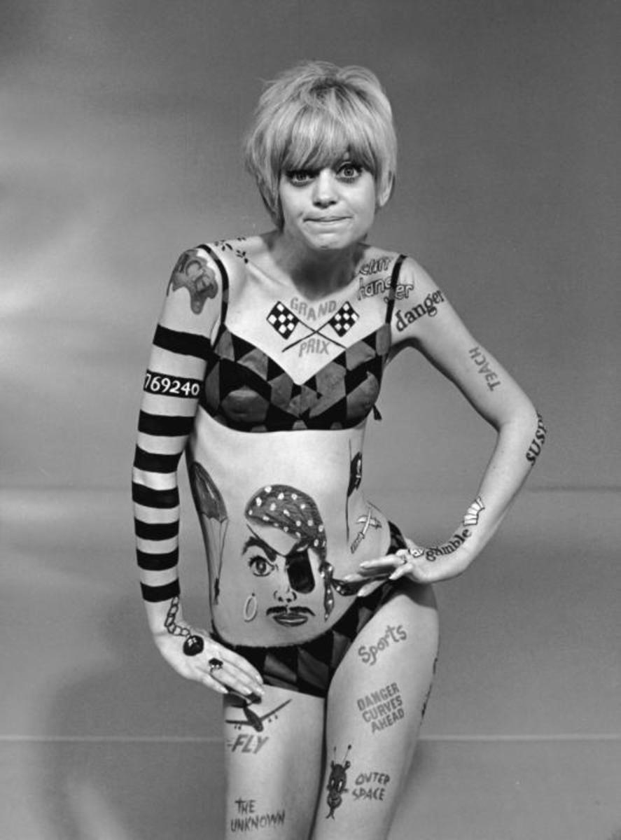 Goldie Hawn on TVs Laugh-In 1968
