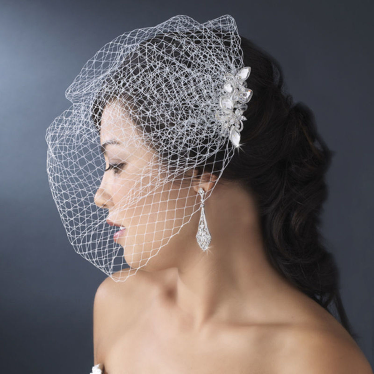 how-to-make-your-own-hair-fascinator-with-bird-cage-veil-for-your-wedding