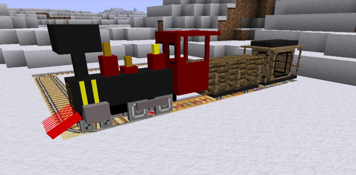Minecraft Train Mod   How To Make A Train In Minecraft
