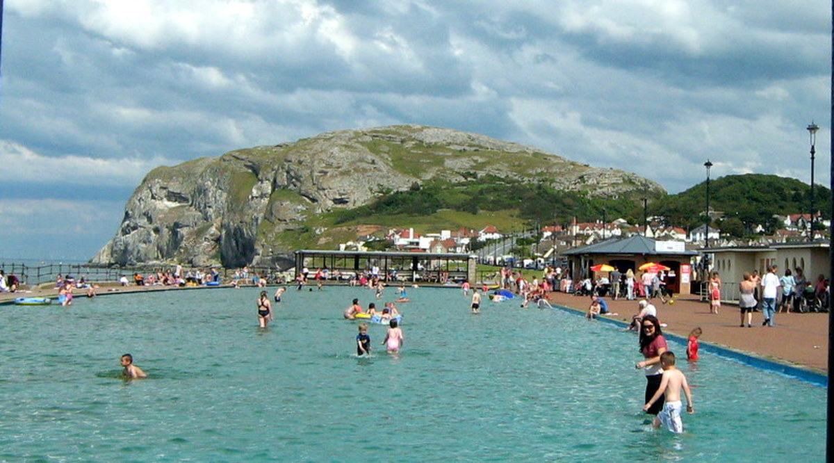 Learn about my holiday in Llandudno Wales
