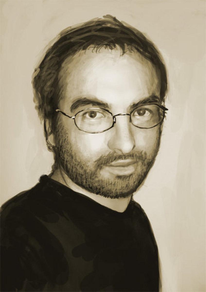 Jeremiah Morelli - Self Portrait