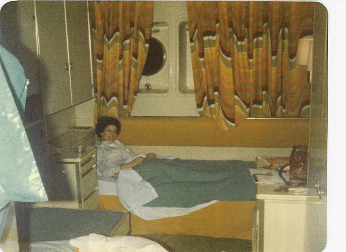 In an OceanView Cabin