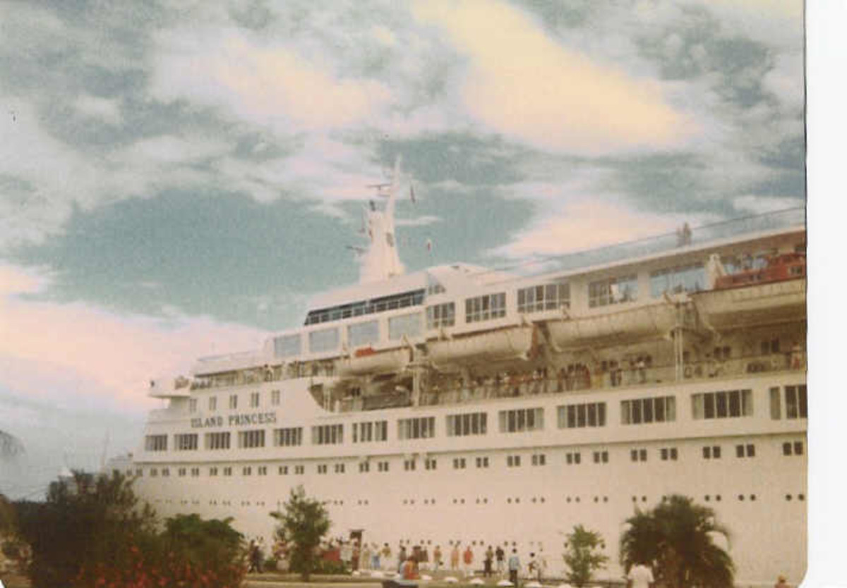 The Island Princess Cruise Ship