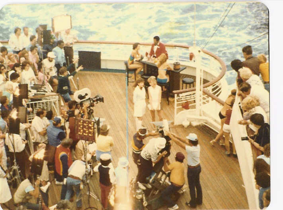 Filming On The Love Boat