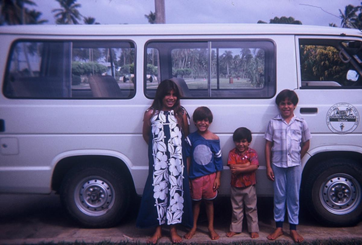 My children circa 1983.