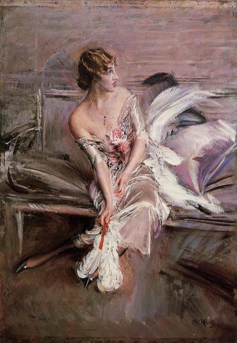 Gladys Deacon as painted by Boldini