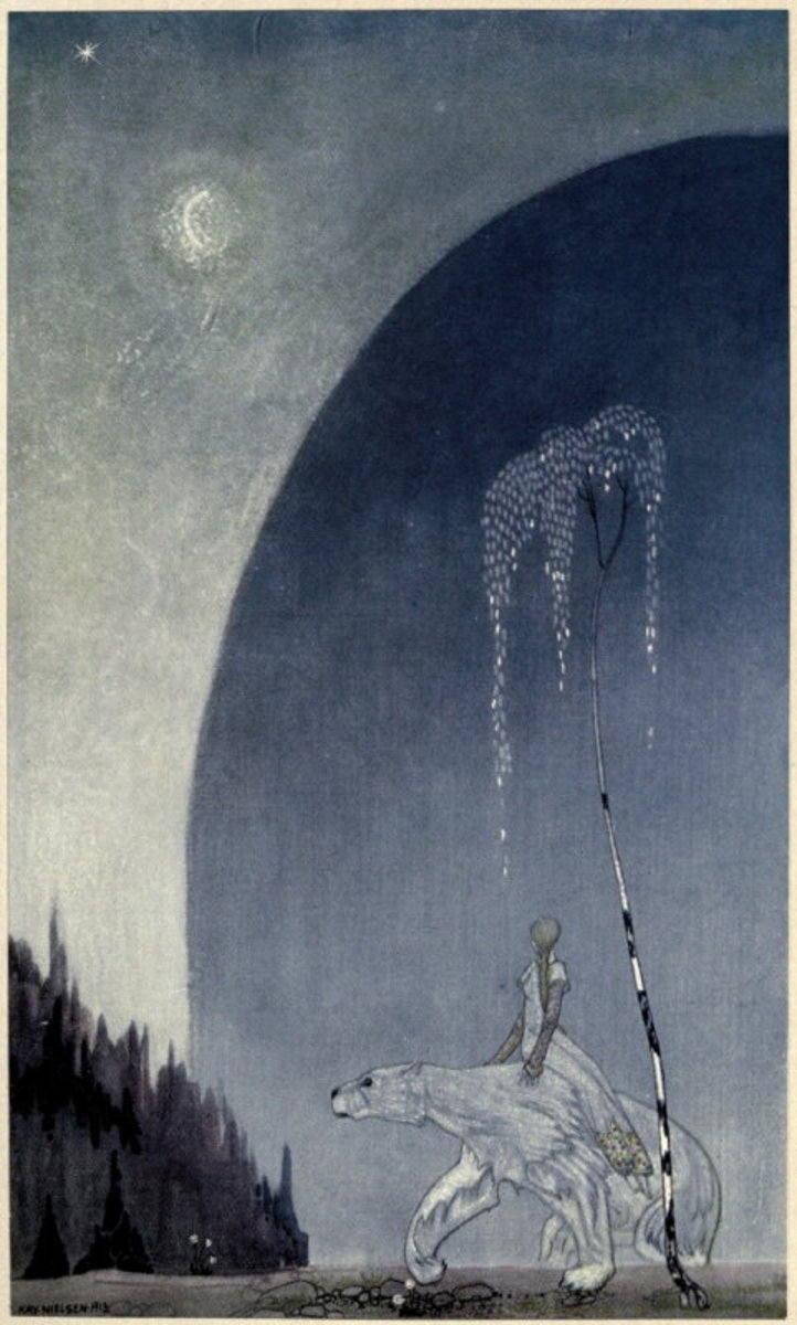 Kay Neison illust in 'East of the Sun and West of the Moon. Old Tales from the North'