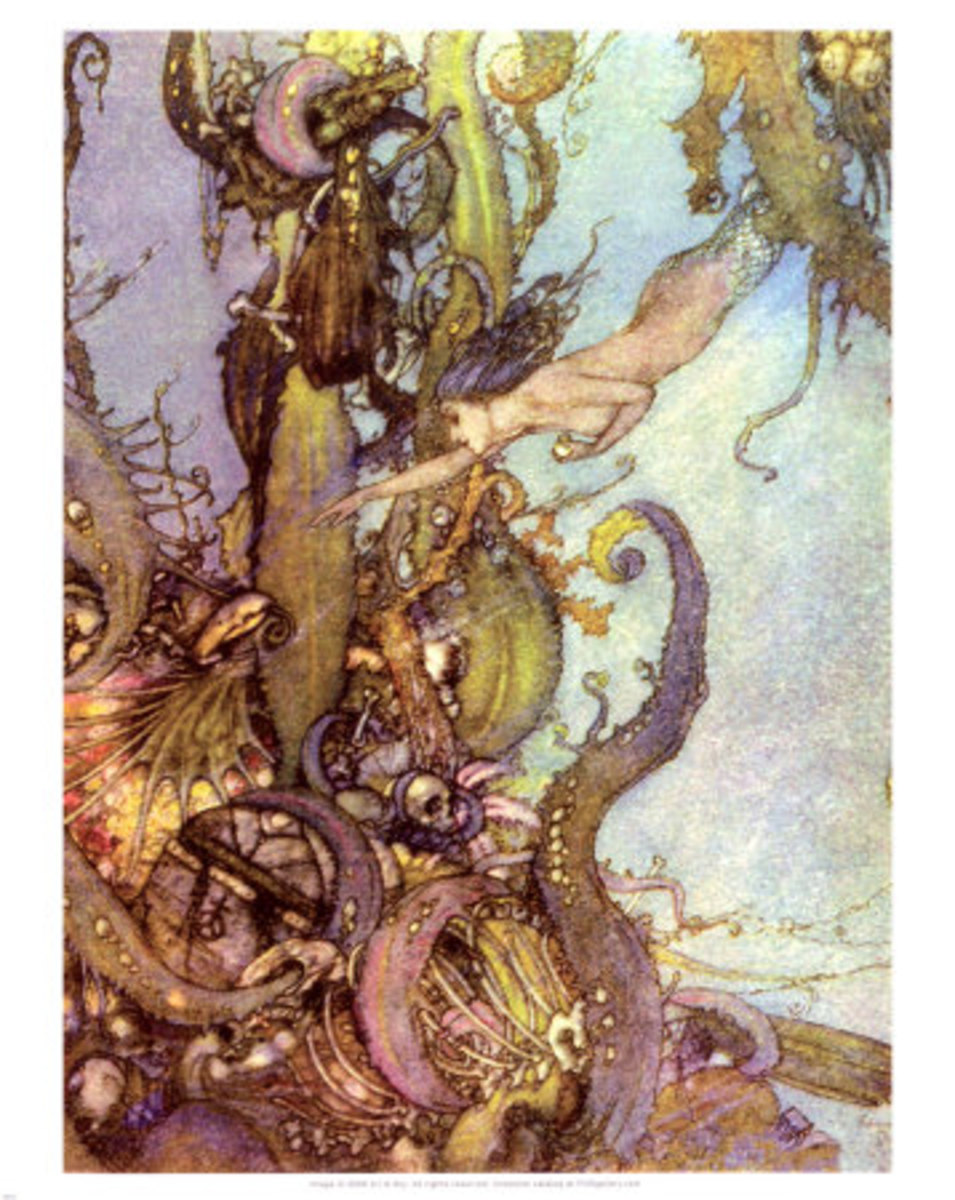 The Little Mermaid Edmund Dulac