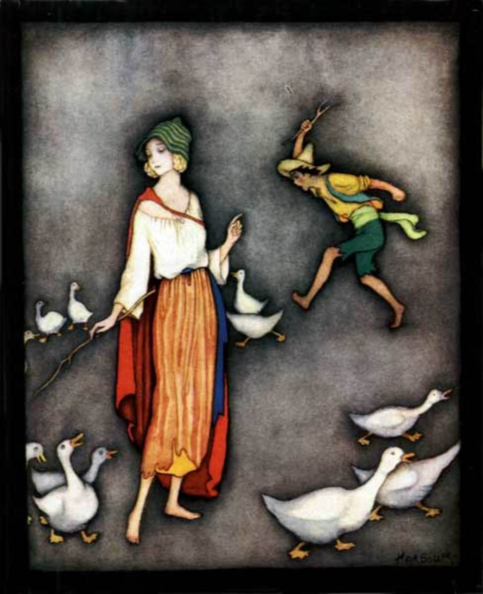 The Goose Girl by JENNIE HARBOUR