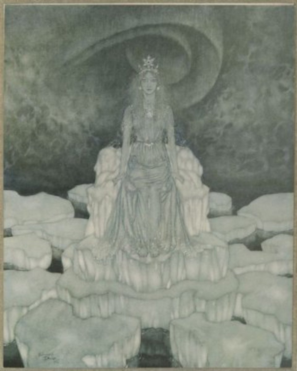 The Snow Queen by Edmund Dulac