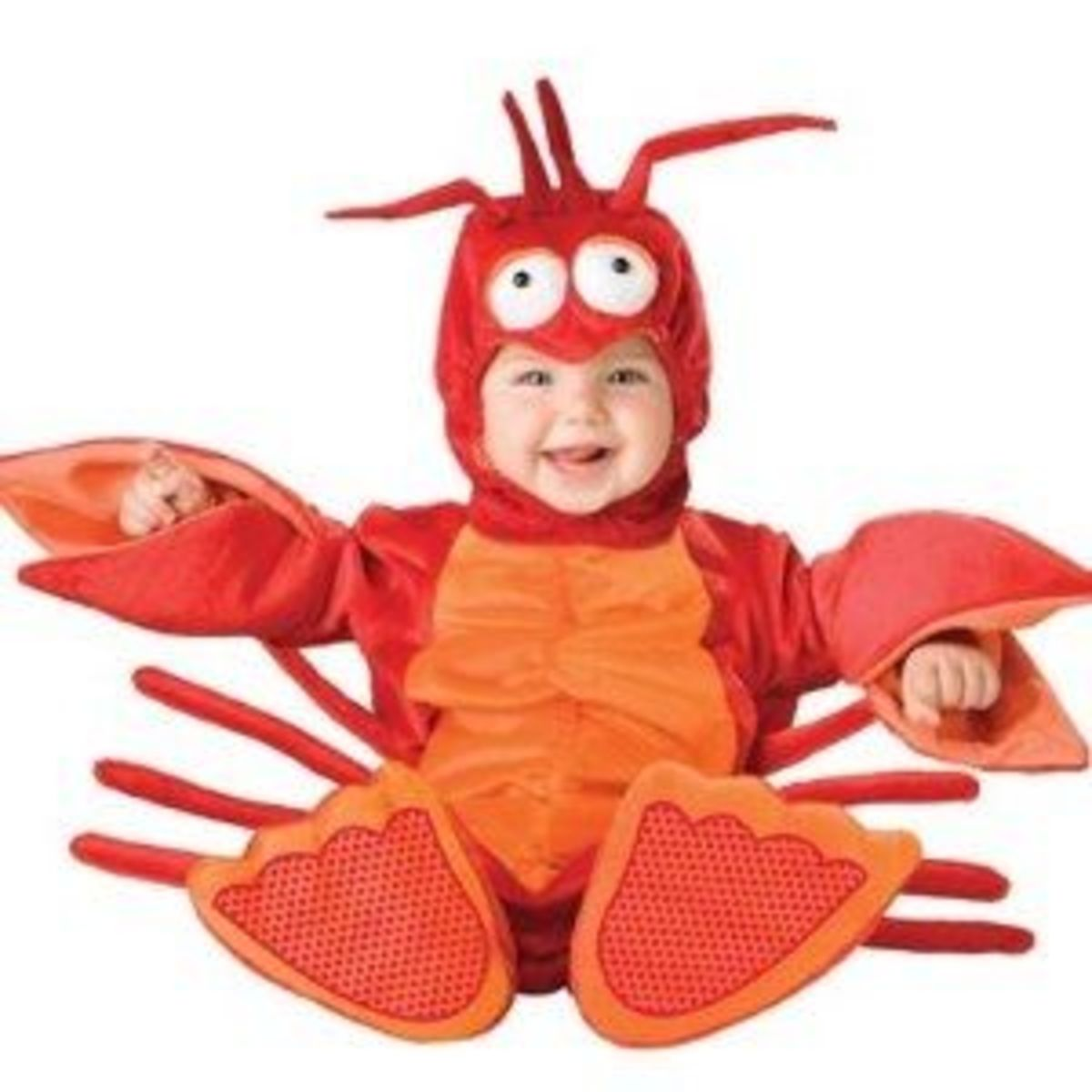 Lil Characters Unisex-baby Newborn Lobster Costume