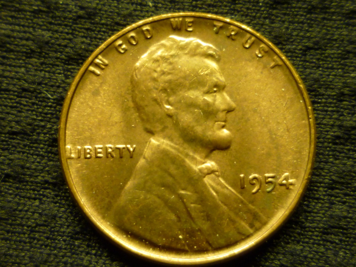 Almost Circulated. Notice almost full Mint luster, but the slightest minor wear is evident.