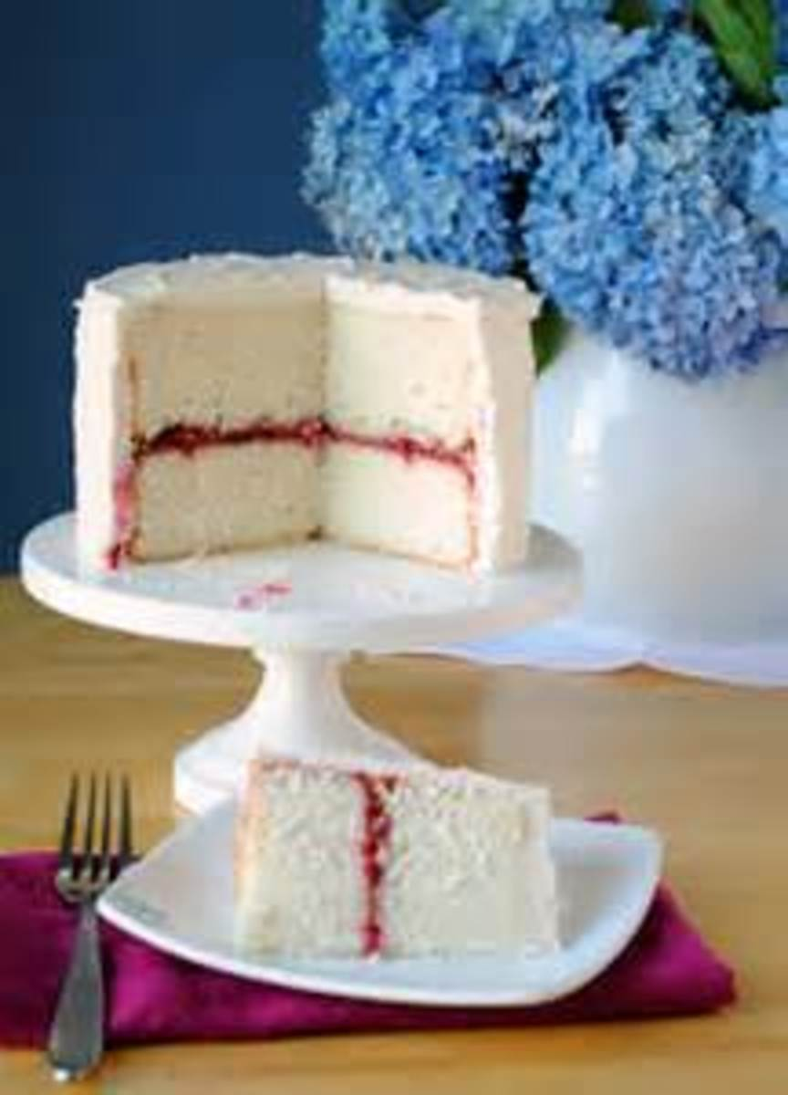 Similar to Wedding cake with jam fillings