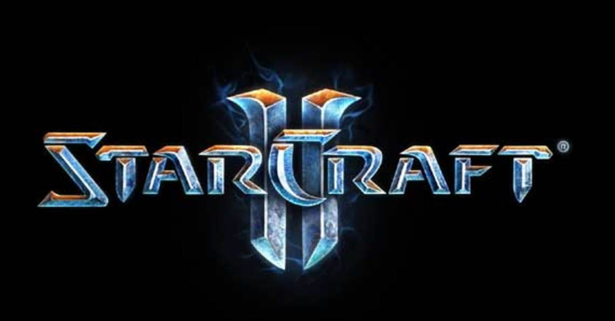 The logo Starcraft 2, the newest installation to the series, recently released last July.