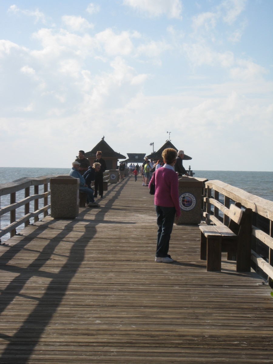 Naples Pier in Naples, FL.