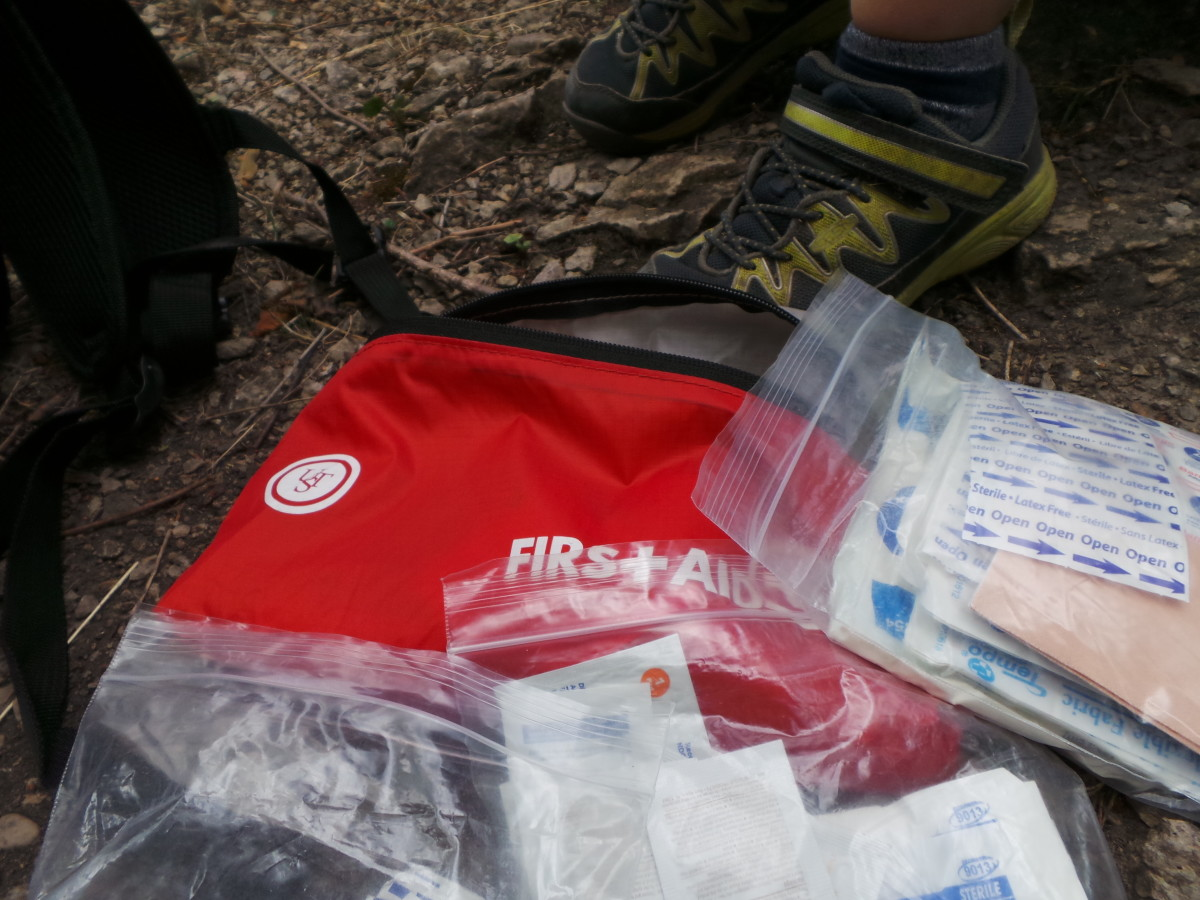 A first aid kit is an essential piece of disaster preparedness gear.
