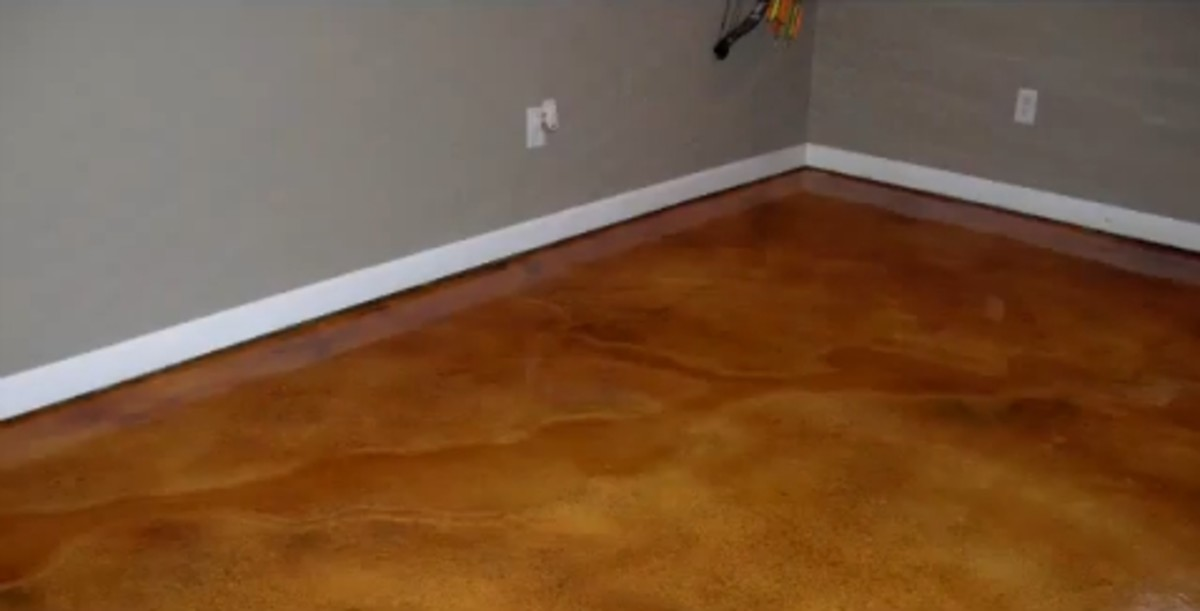 Inexpensive basement flooring options over concrete floor for Affordable basement flooring