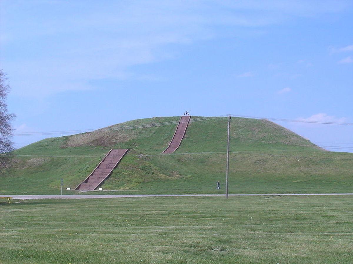 Monk's Mound at Cahokia Mounds