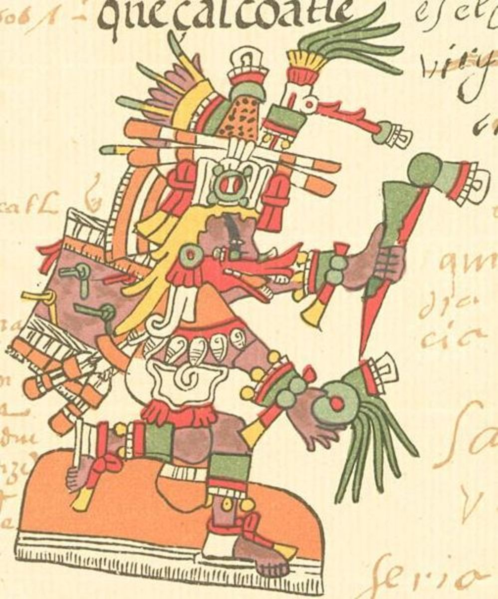 Quetzalcoatl in human form