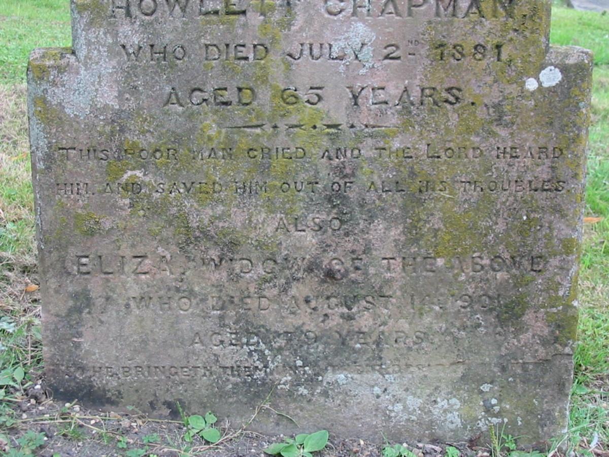 Eliza and William John Howlett Chapman