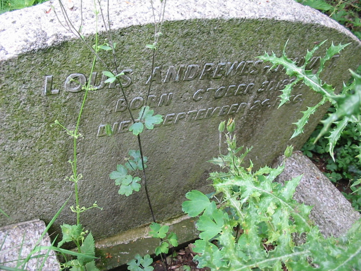 Louis Andrewes-Uthwatt, died 24 Sep 1836, buried St. Andrews, Great Linford