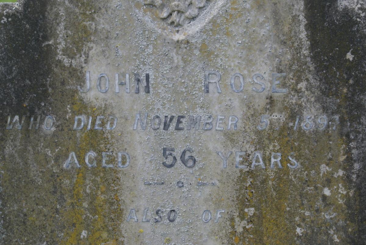 John Rose, St. Laud's Sherington, Buckinghamshire