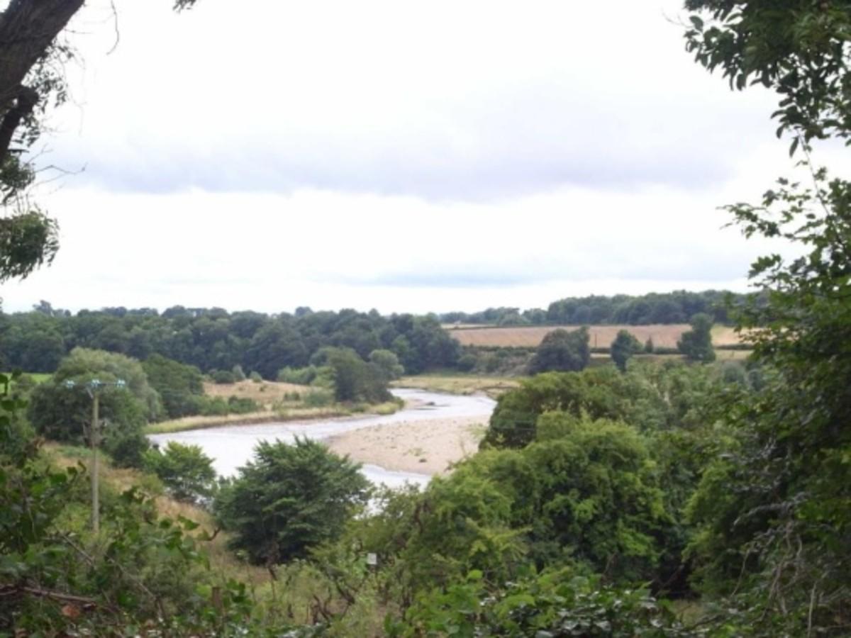 The Tees at High Coniscliffe near Darlington