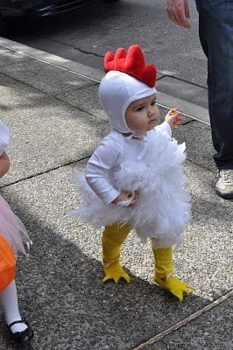 10 Unique Free Homemade Kid and Baby Halloween Costume Patterns