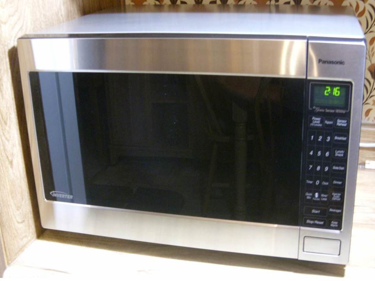 Product Review Panasonic Inverter Microwave Oven Hubpages
