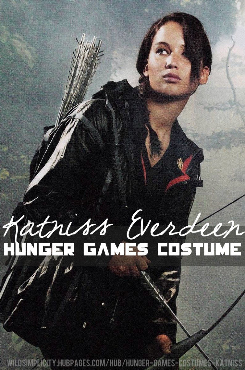 Katniss Everdeen Hunger Games Costume and Makeup