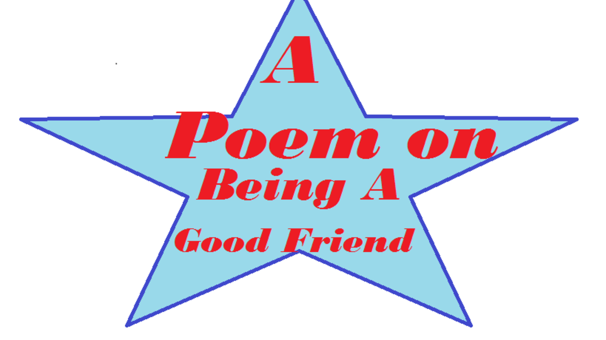 A poem on being a good friend
