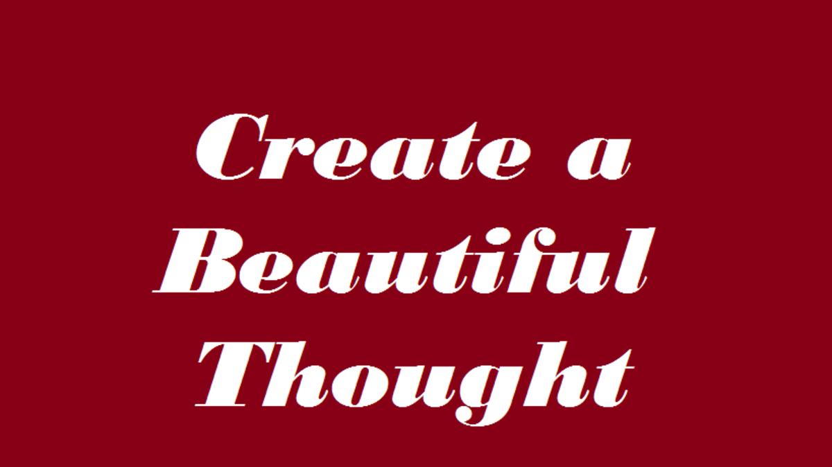 Beautiful thought