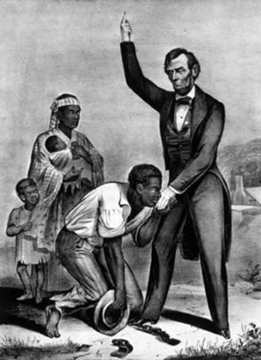 """Abraham Lincoln held no particular """"affection"""" for slaves."""