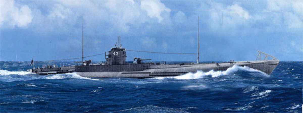 Japanese World War II submarine