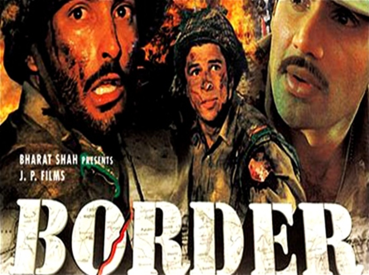 Border, a Blockbuster Hindi war movie